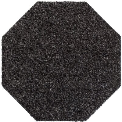 Gaius Gray Indoor/Outdoor Area Rug Rug Size: Octagon 6