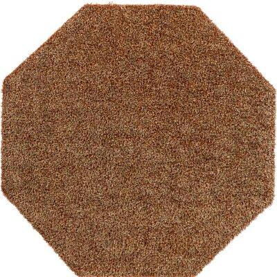 Megara Brown Indoor/Outdoor Area Rug Rug Size: Octagon 6