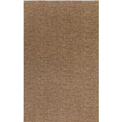Beige Woven Indoor/Outdoor Area Rug Rug Size: 5 x 8