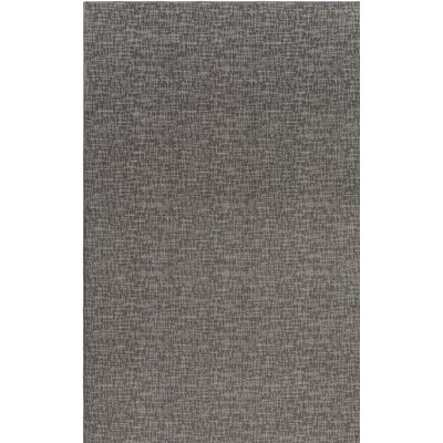 Braelyn Contemporary Gray Indoor/Outdoor Area Rug Rug Size: 5 x 7
