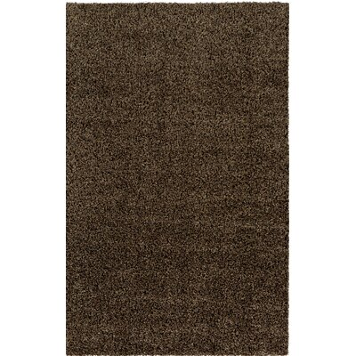 Brown Indoor/Outdoor Area Rug Rug Size: Round 4'