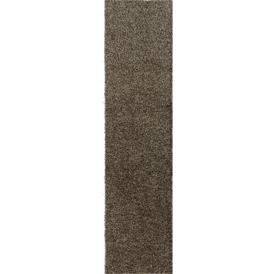 Dulcia Solid Gray Indoor/Outdoor Area Rug Rug Size: Runner 2 x 10