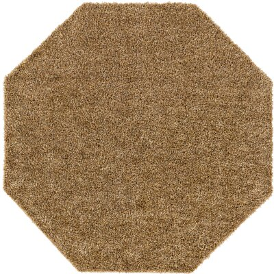 Dulcia Brown Indoor/Outdoor Area Rug Rug Size: Octagon 6