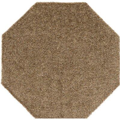 Brown Indoor/Outdoor Area Rug Rug Size: Octagon 6