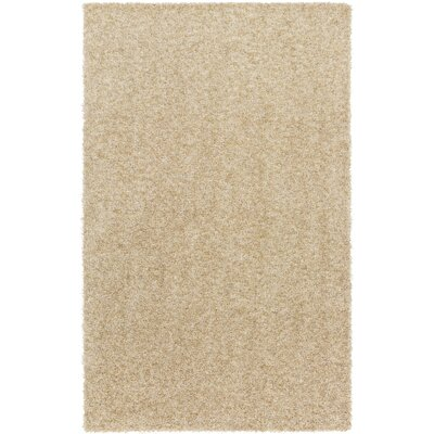 Dulcia Beige Indoor/Outdoor Area Rug Rug Size: Round 4