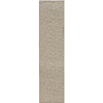 Gray Indoor/Outdoor Area Rug Rug Size: Runner 2 x 10
