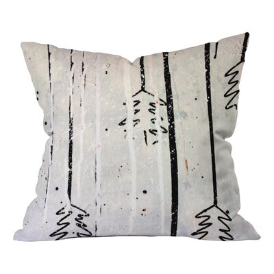 Holiday Trees Indoor Throw Pillow Size: Small