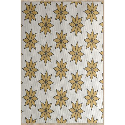 Christmass Beige Indoor/Outdoor Area Rug Rug Size: 4 x 6