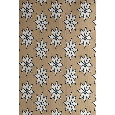 Holiday Wishes Beige Indoor/Outdoor Area Rug Rug Size: 2 x 3