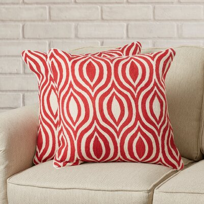 Iason Wool Throw Pillow
