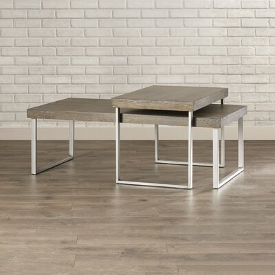 Asine 2 Piece Nested Coffee Table Set
