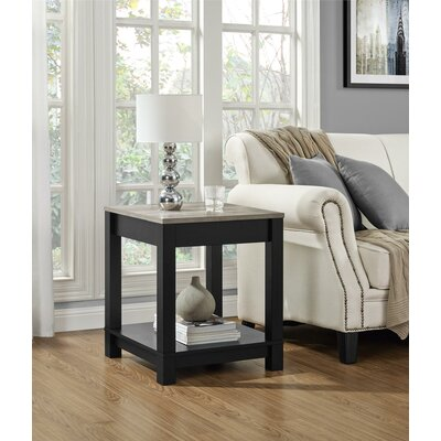 Callowhill End Table Color: Black