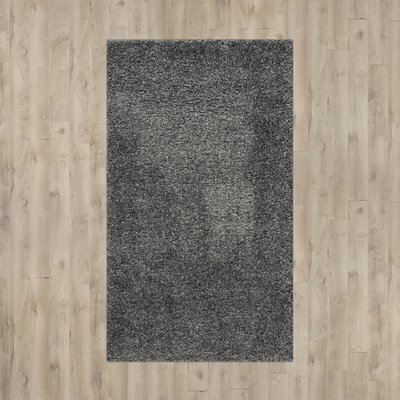 Arce Dark Gray Area Rug Rug Size: Rectangle 53 x 76