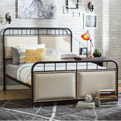 Mondragon Queen Upholstered Panel Bed