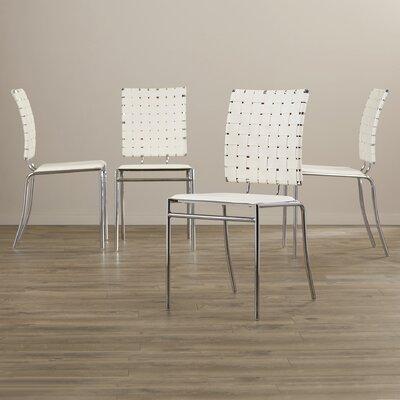 Ardoin Side Chair Upholstery: White