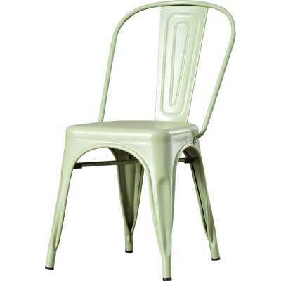 Struble Side Chair Finish: Green