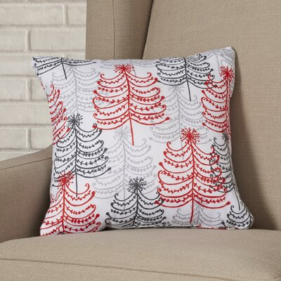 Senga Doodle Trees Throw Pillow Size: Extra Large