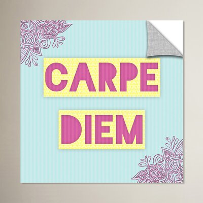 Carpe Diem Graphic Art Size: 14