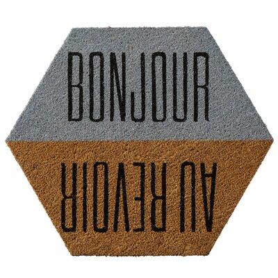Ashlock Bonjour/Au Revoir Doormat