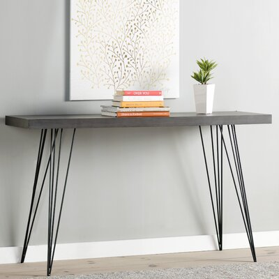 Arcuri Console Table Finish: Dark Brown