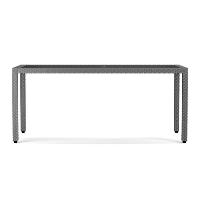 Ellie Rectangle Dining Table Finish: Gray