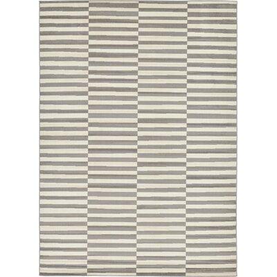 Braxton Warm Gray Area Rug Rug Size: 7 x 10