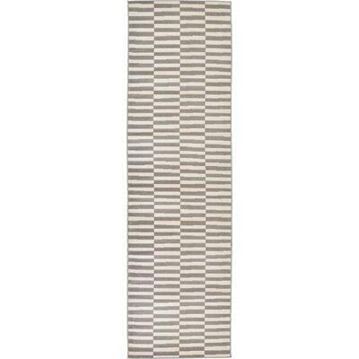 Braxton Warm Gray Area Rug Rug Size: Runner 29 x 910