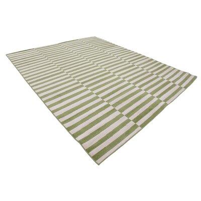 Braxton Green Area Rug Rug Size: 8 x 10