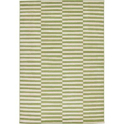 Braxton Green Area Rug Rug Size: 6 x 9