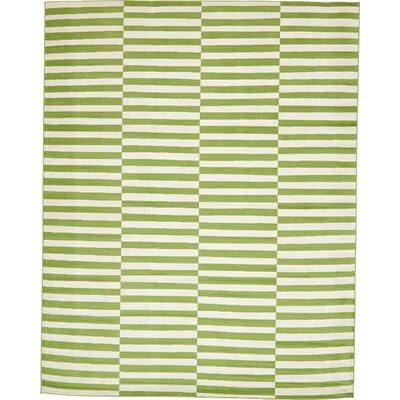Braxton Green Area Rug Rug Size: 10 x 13