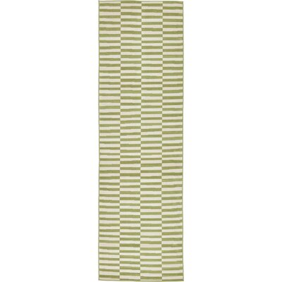 Braxton Green Area Rug Rug Size: Runner 29 x 910