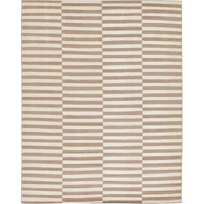 Braxton Light Brown Area Rug Rug Size: 10 x 13