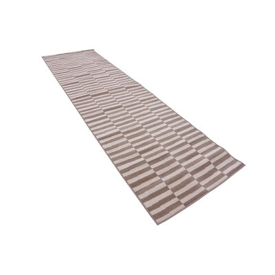 Braxton Light Brown Area Rug Rug Size: Runner 29 x 91