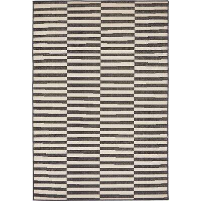 Braxton Black Area Rug Rug Size: 4 x 6
