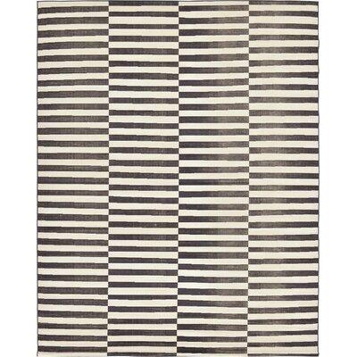 Braxton Black/White Area Rug