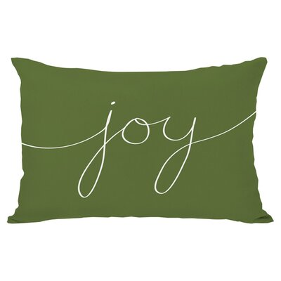Lidia Joy Mix and Match Lumbar Pillow Color: Green