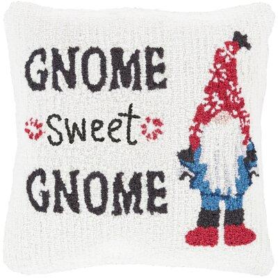 Gnome Winter Throw Pillow