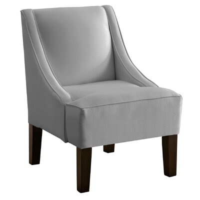 Cebes Swoop Arm Chair Upholstery: Silver
