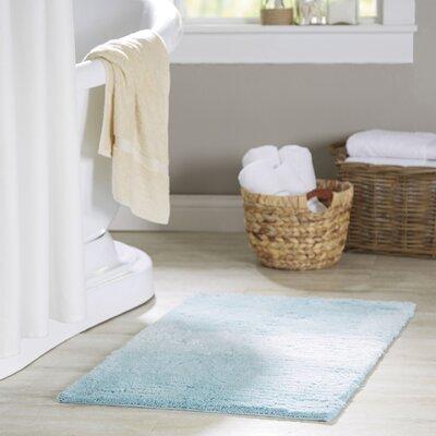 Yoan Bath Mat Color: Pastel Turquoise