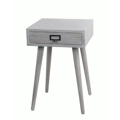 Hess 1 Drawer End Table
