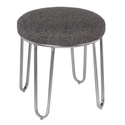 Bate 19 Round Ottoman Upholstery Color: Grey