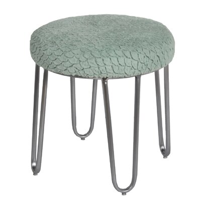 Bate 19 Round Ottoman Upholstery Color: Seafoam