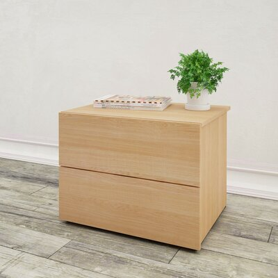 Lila 2 Drawer Nightstand
