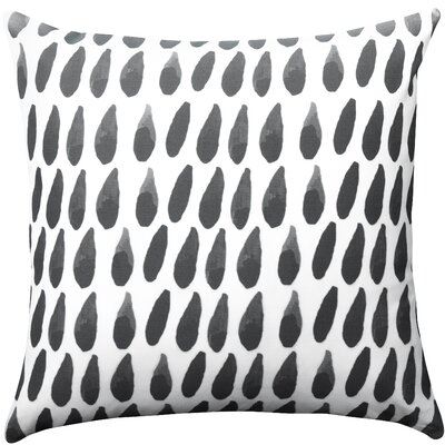 Battiste Drops 100% Cotton Throw Pillow Size: 16 H x  16 W x 6 D