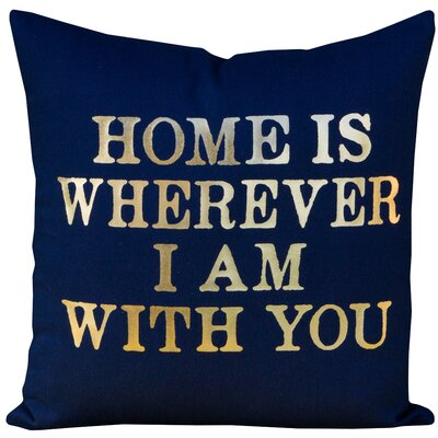 Bynum Home Cotton Throw Pillow