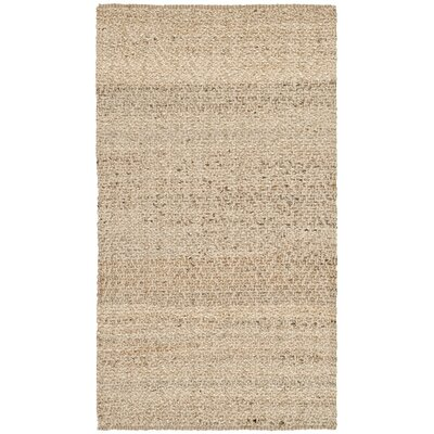 Michaels Hand-Loomed Beige Area Rug Rug Size: Rectangle 3 x 5