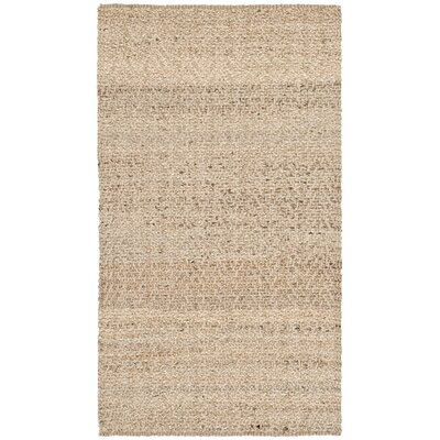 Michaels Hand-Loomed Beige Area Rug Rug Size: 3 x 5