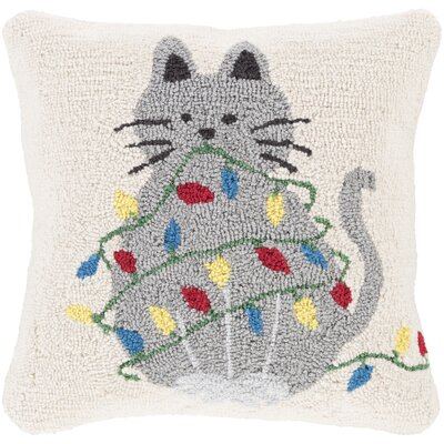 Maelys Tree Winter Throw Pillow