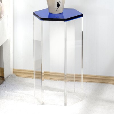Channing End Table Finish: Blue