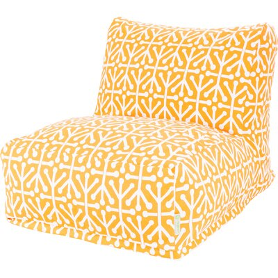 Nerys Bean Bag Lounger Upholstery: Citrus